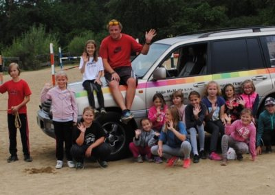 Dětský tábor M+M stáje 2018 - turnus 1