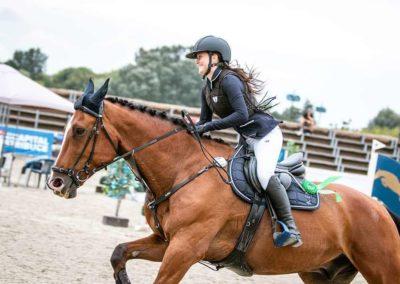 Jezdkyně Vanessa Langrová